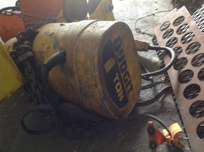 Budgit 1 Ton Chain Hoist   Caribbean Equipment online classifieds for