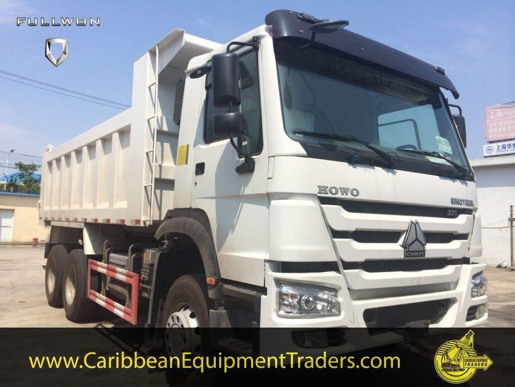 howo 6x4 16m3 25 ton dump truck