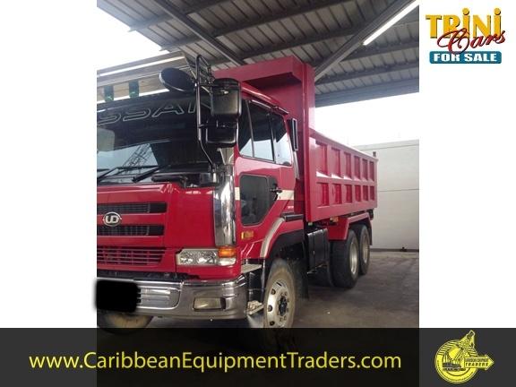 Nissan 10 wheeler Dumpers | Caribbean Equipment online classifieds ...