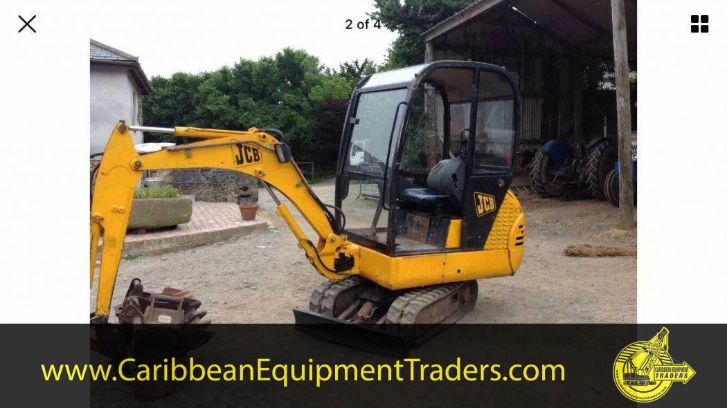 JCB 1 5 Tonne Mini Excavator | Caribbean Equipment online