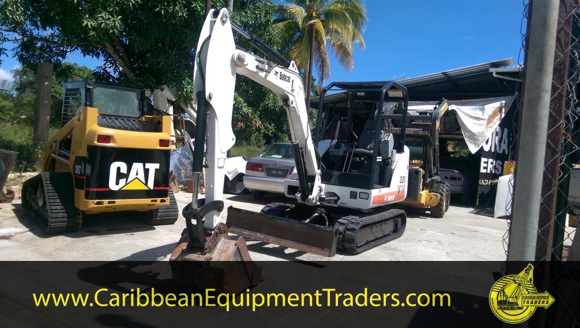 2008 Bobcat 331 3 Ton Excavator Caribbean Equipment