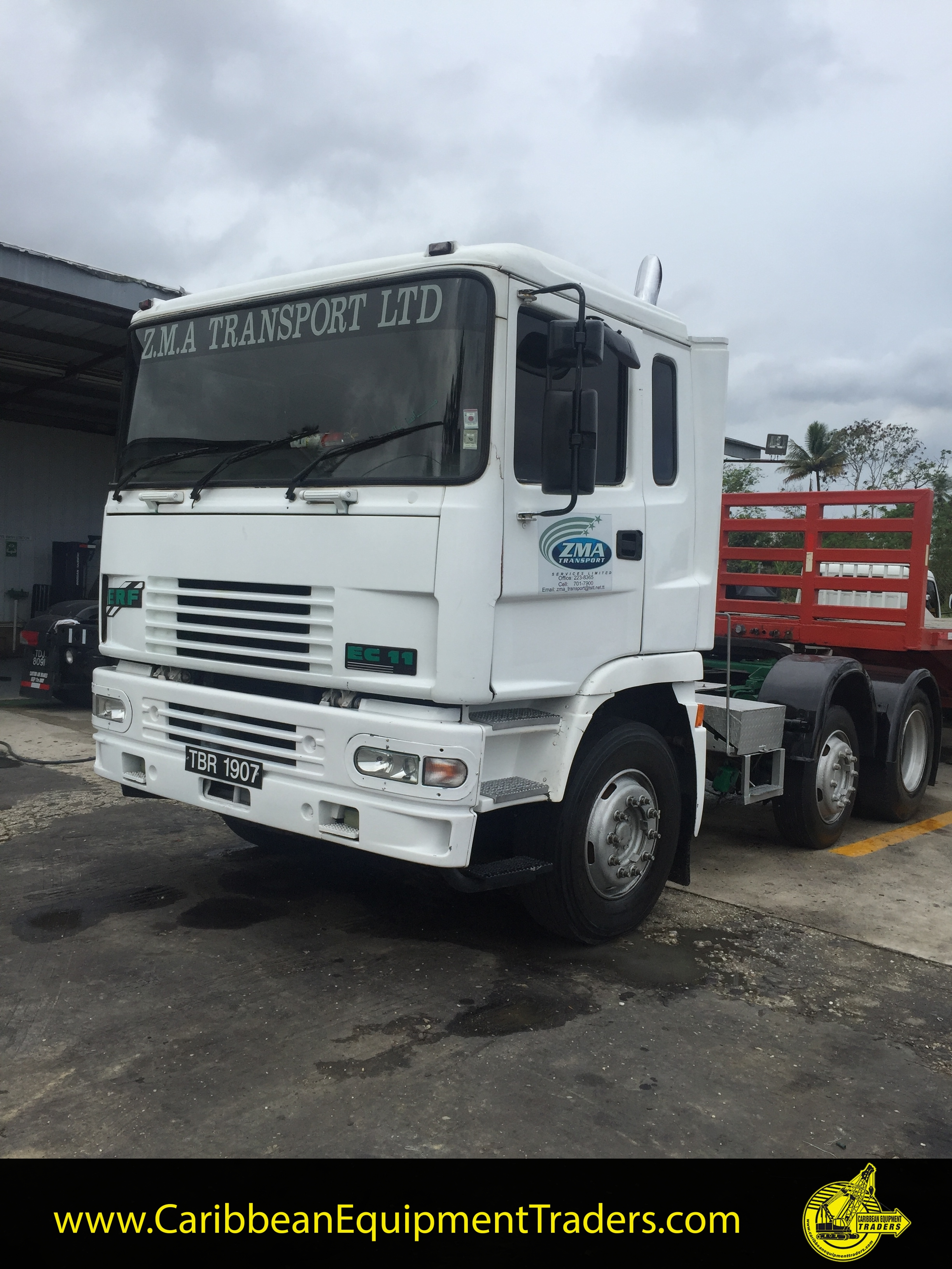 ERF EC11 8 Wheeler Tractor Truck for Sale | Caribbean Equipment online classifieds for heavy ...