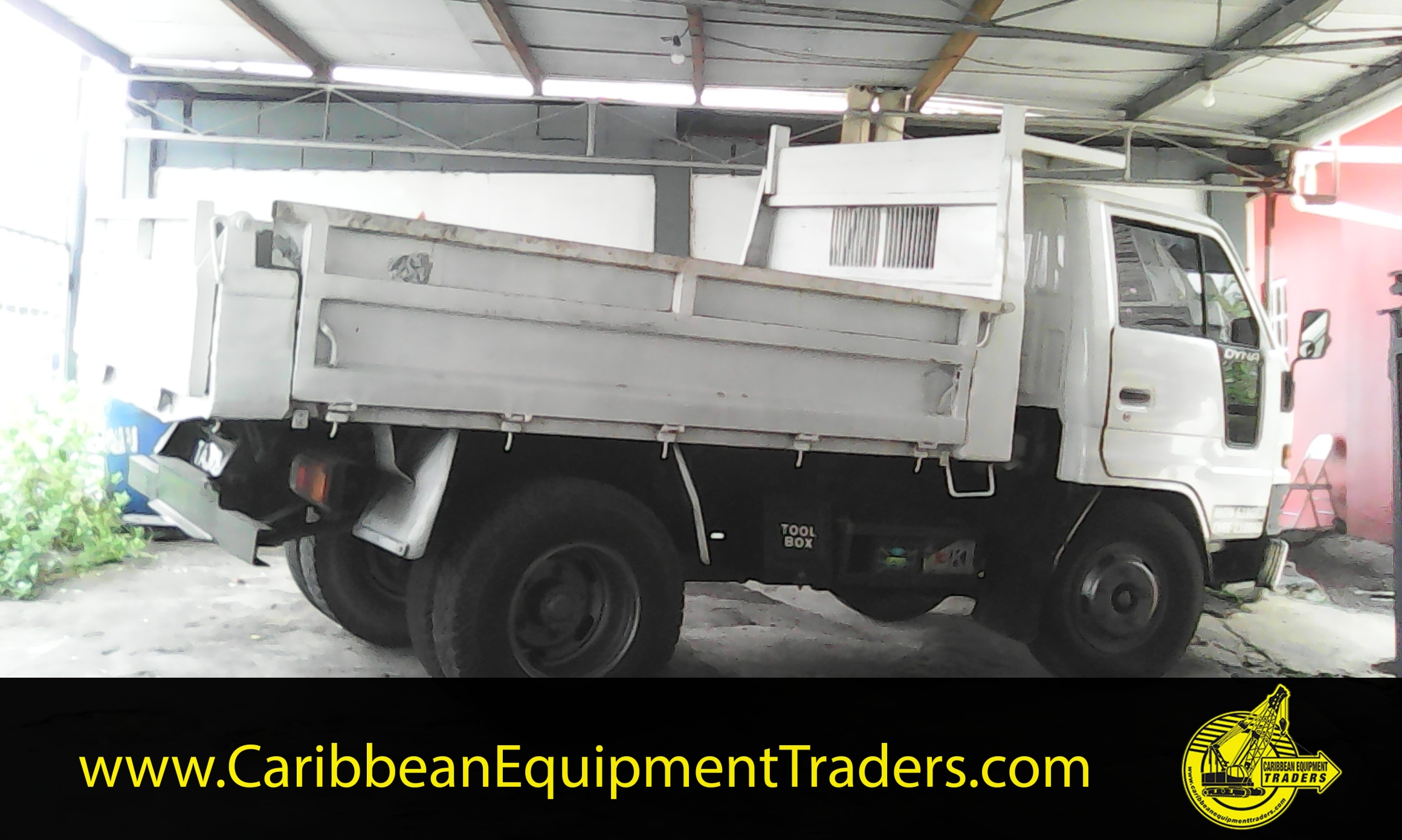 Dump Truck Cable Control Tower : Toyota dyna dump truck ton caribbean equipment