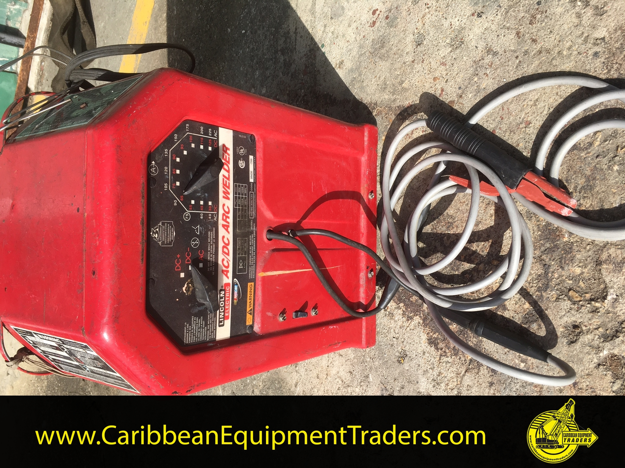 Lincoln Ac Dc Arc Welder Caribbean Equipment Online