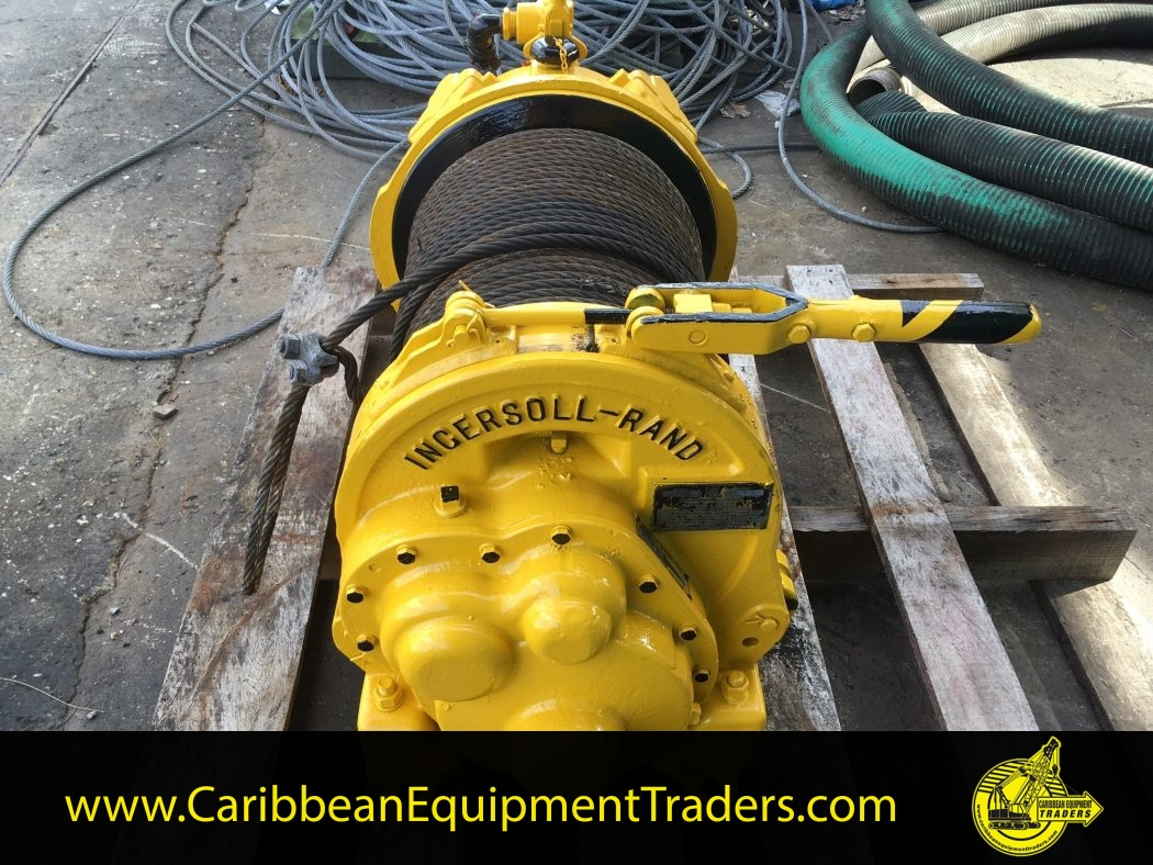 Ingersoll Rand Hul 40 Air Tugger Caribbean Equipment