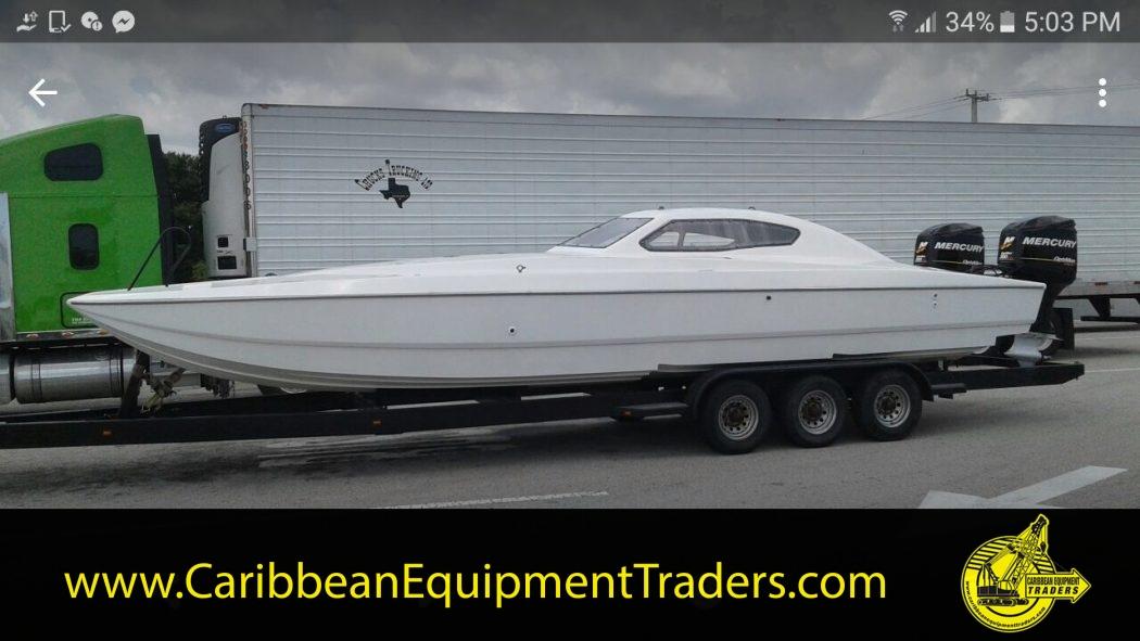 30ft Catamaran race boat, no engines   Caribbean Equipment