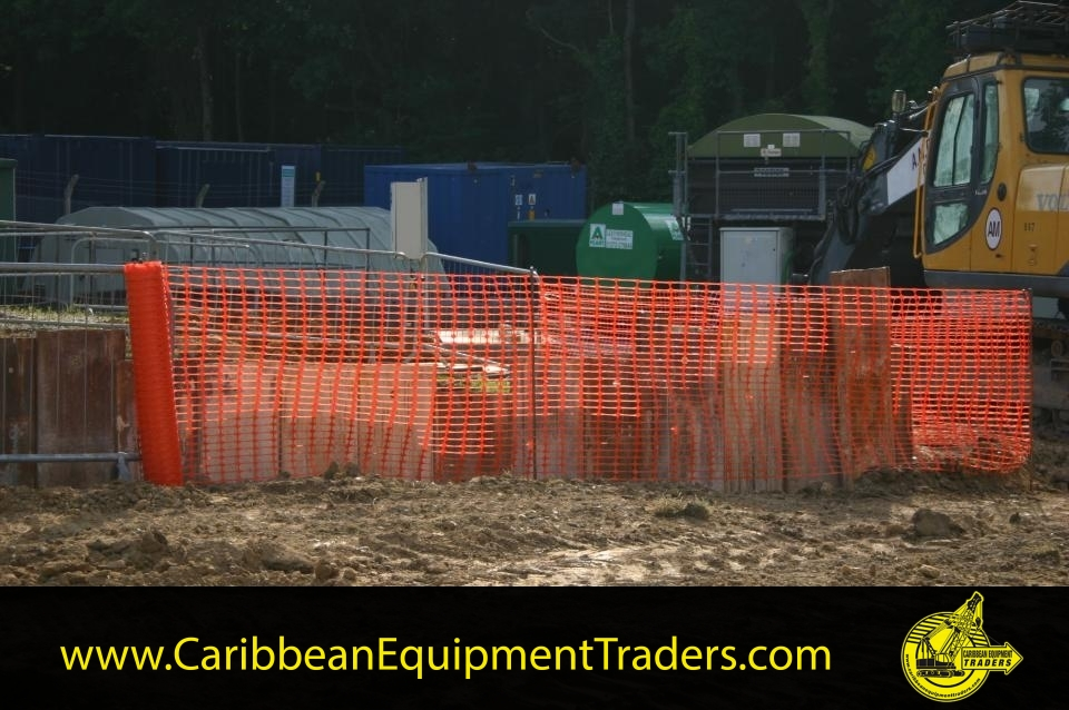 Safety Barrier Fence | Caribbean Equipment online