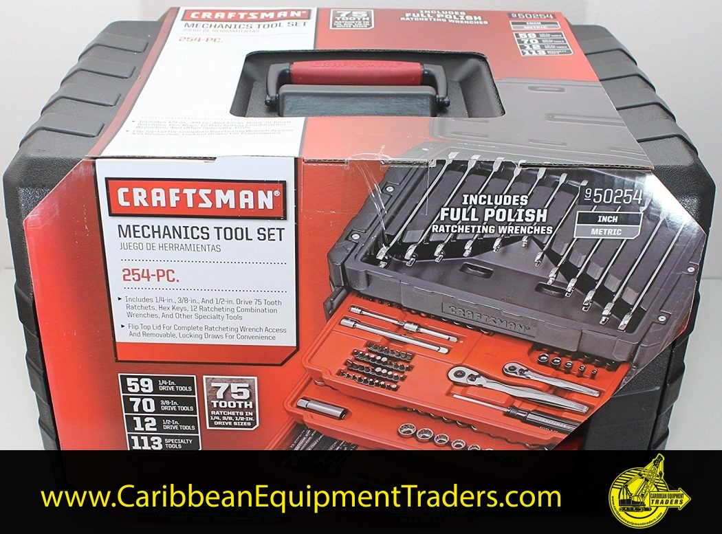 Craftsman 254 Piece Combo Tool Set With Chest of Drawers