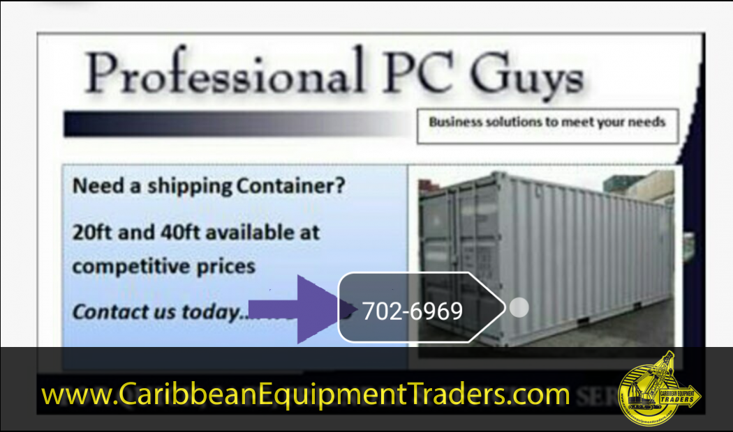 Reefer / cold storage containers / dry containers