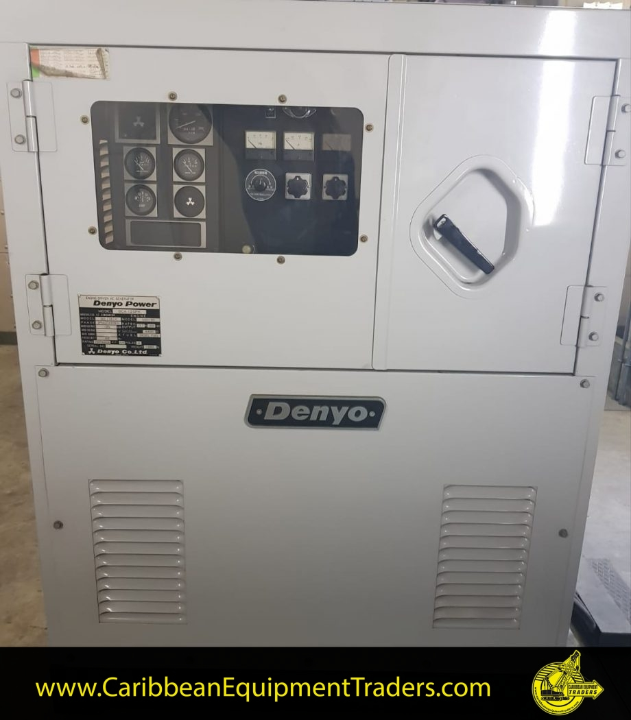 Denyo Generator 125 Kva Caribbean Equipment Online