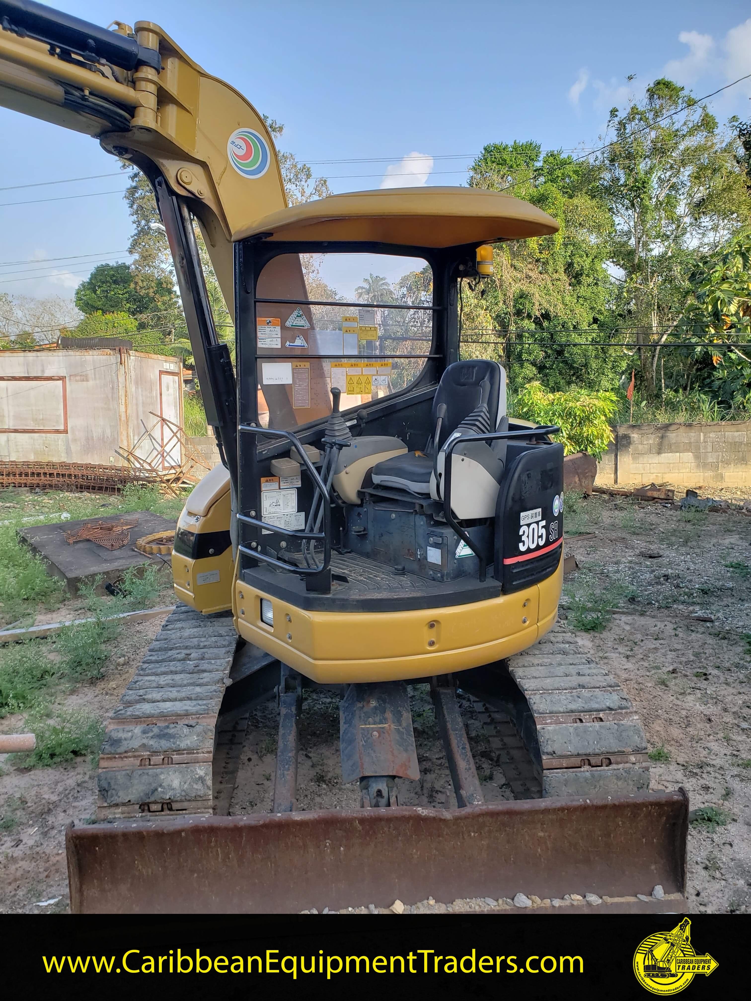 Mini Cat 305 Excavator Caribbean Equipment Online
