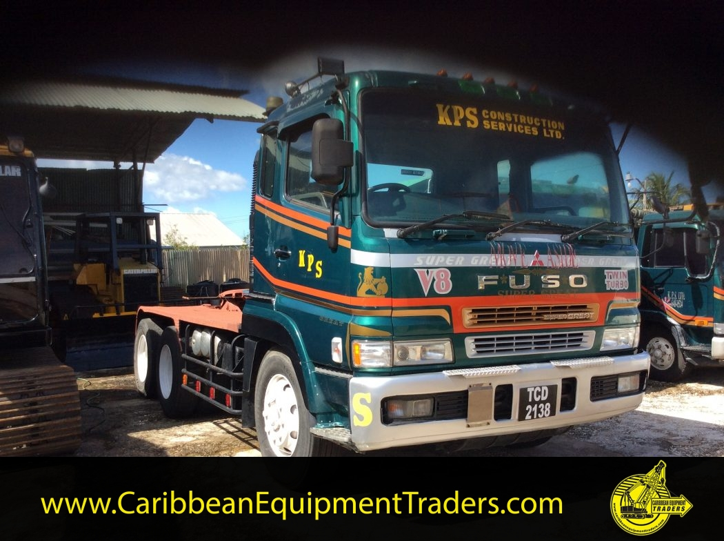 Mitsubishi Fuso Tractor Truck Caribbean Equipment Online Head Lamp Powerful Ready To Work